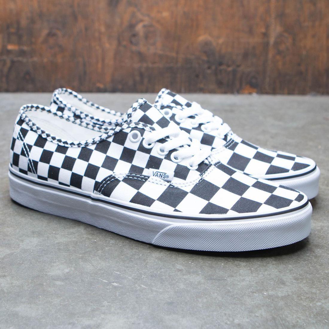 aea630ce95f44e Vans Men Authentic - Mixed Checkerboard (black   checkerboard)