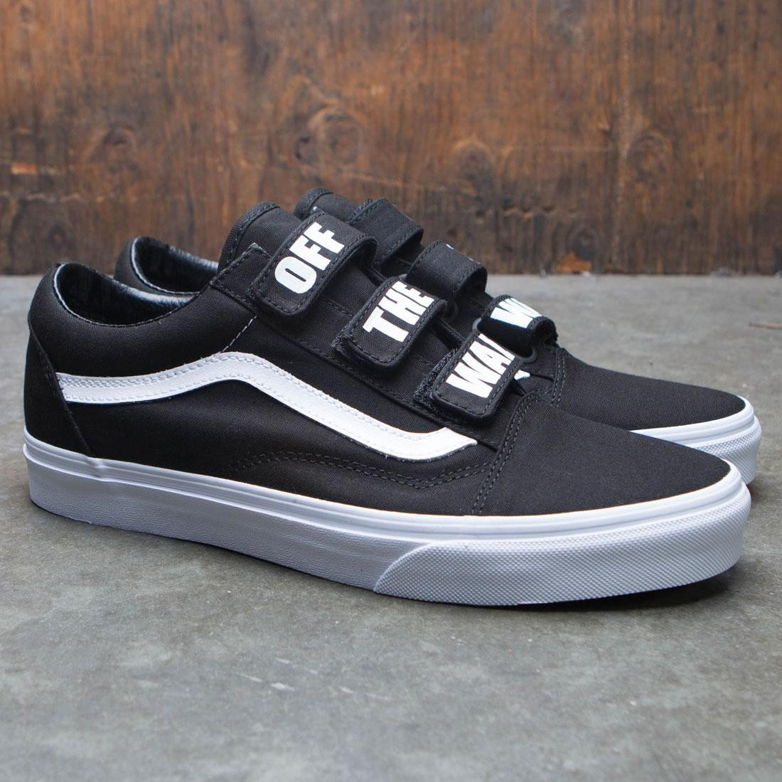 f5355591b7cb9e Vans Men Old Skool V - Off The Wall (black   white)