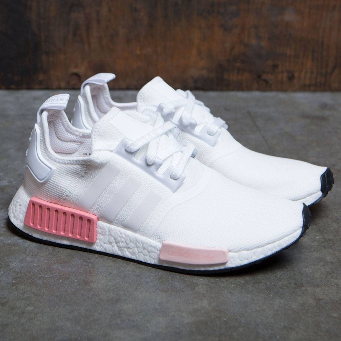 346369fe2d5aad Adidas Women NMD R1 W (white   footwear white   icey pink)