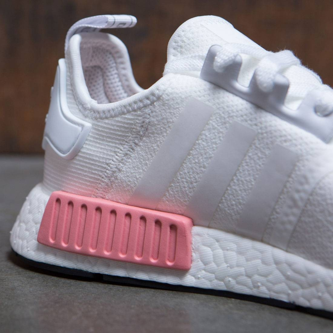 Adidas Women Nmd R1 W White Footwear White Icey Pink