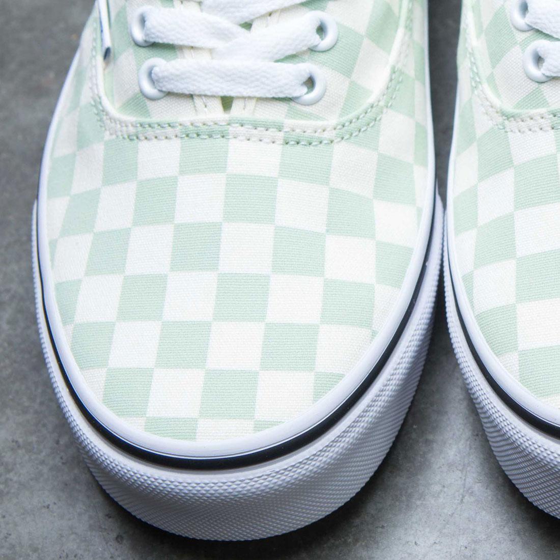 Vans Men Authentic - Checkerboard (green   ambros   white) 1b09d3eea