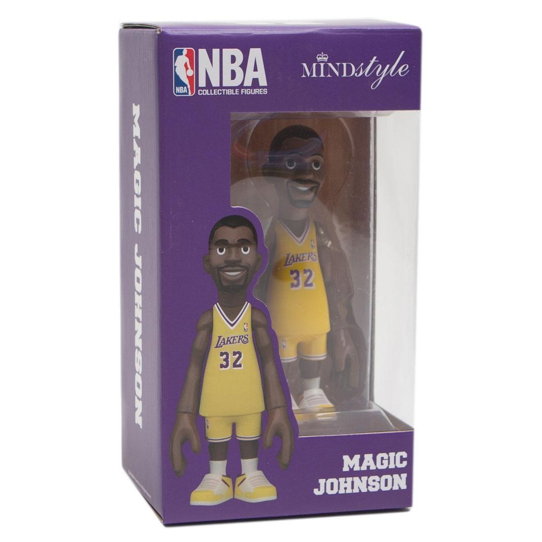 MINDstyle x Coolrain NBA Legends LA Lakers Magic Johnson Figure