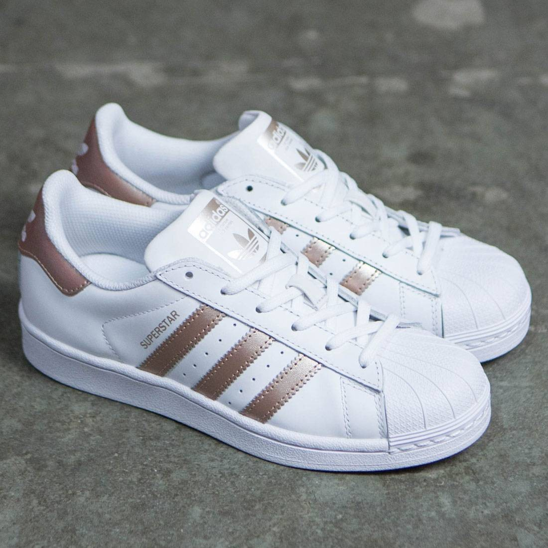 adidas superstars rose gold damen