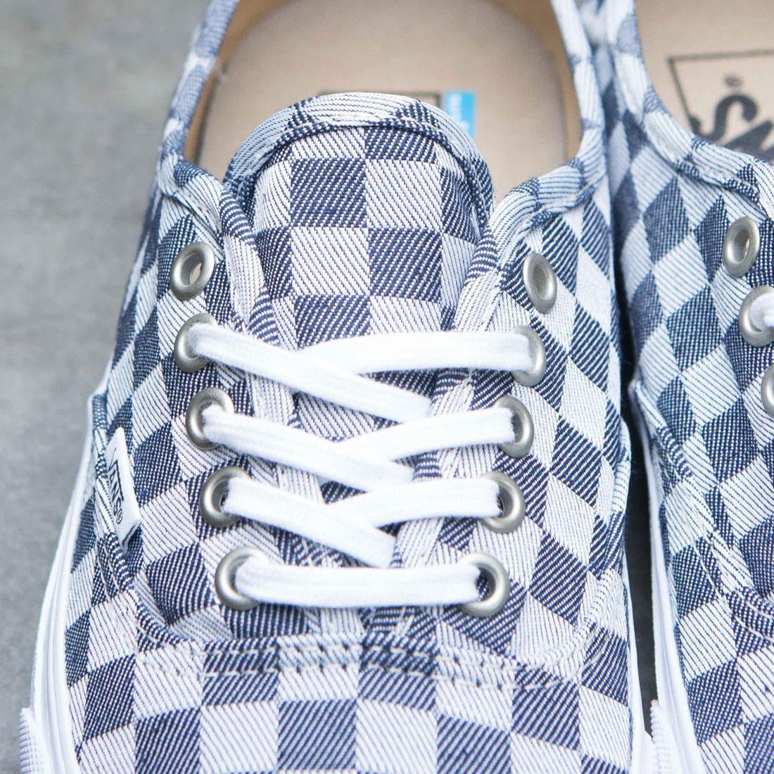 Vans Men Authentic SF Checkerboard Denim (blue denim gray)