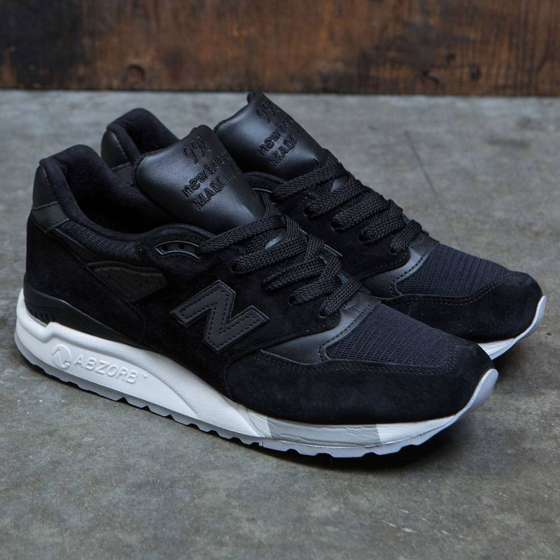 info for 2d651 f8800 New Balance Men 998 M998NJ - Made In USA (black / grey)