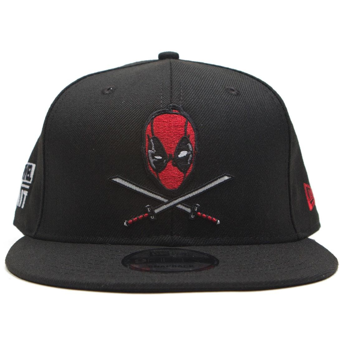 BAIT x New Era x Marvel Deadpool Swords Snapback Cap (black) 8105d3b62e9