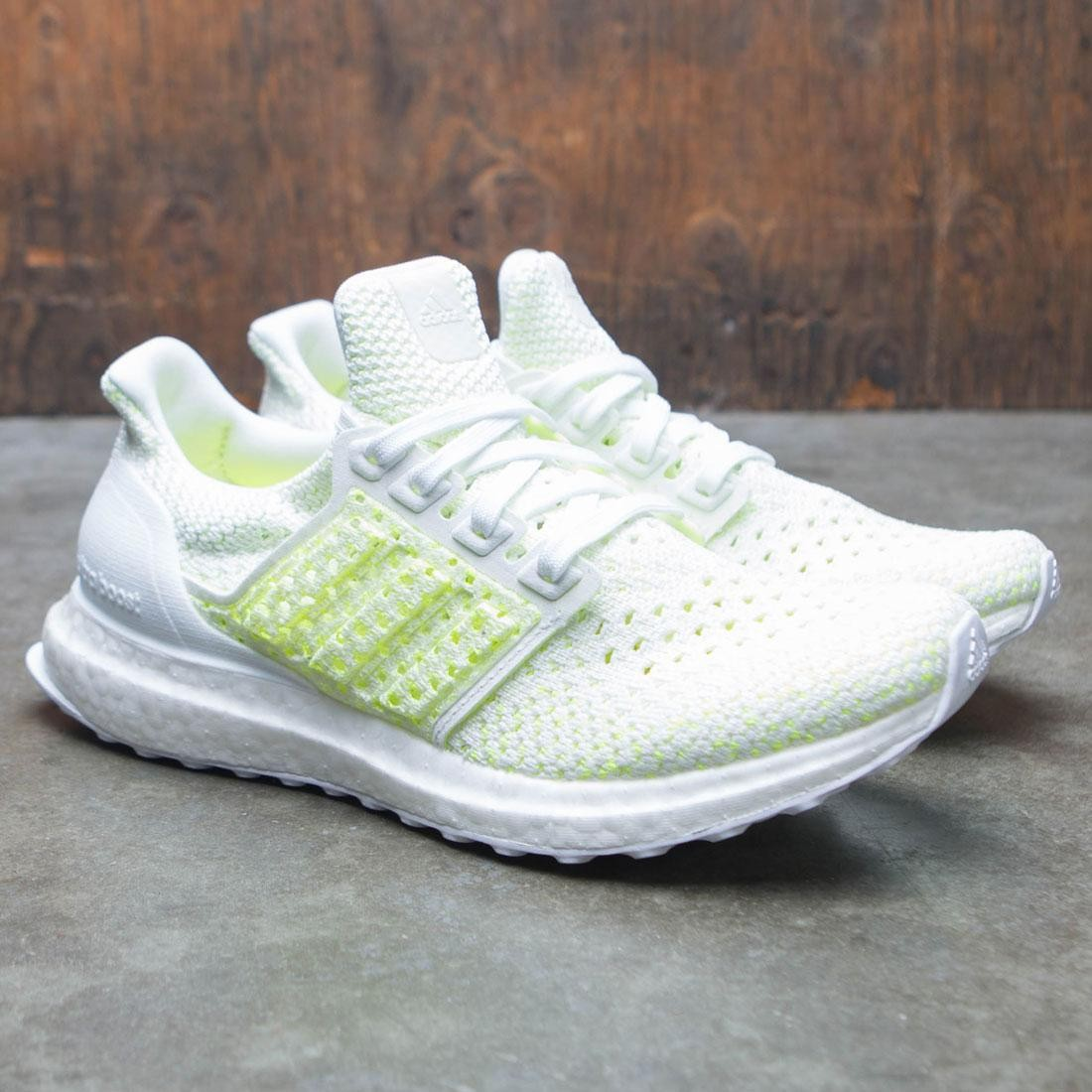 2f3875a8498c Adidas Big Kids UltraBOOST Clima J (white   footwear white   shock yellow)