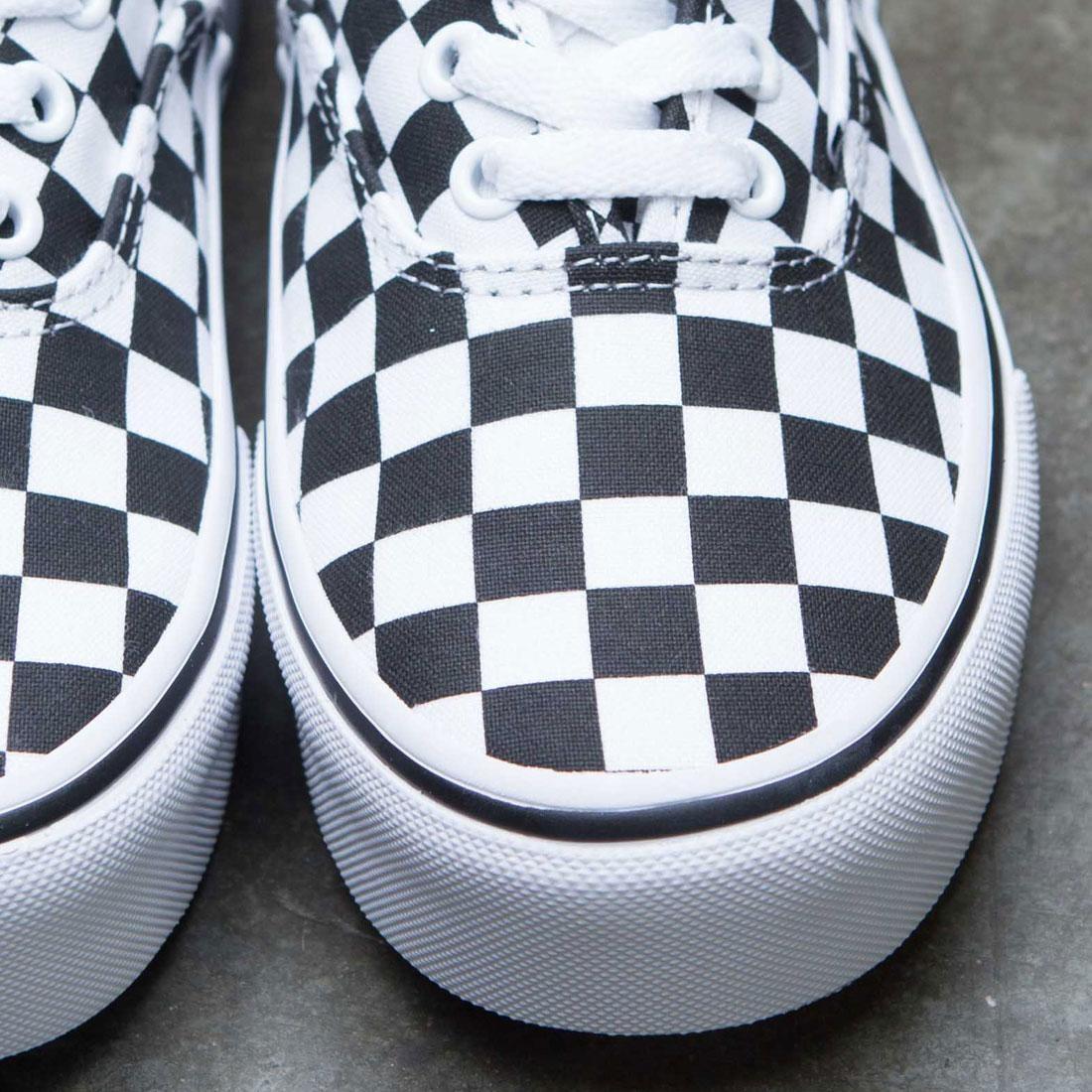 a286892a22 Vans Women Authentic Platform - Checkerboard (black   white)