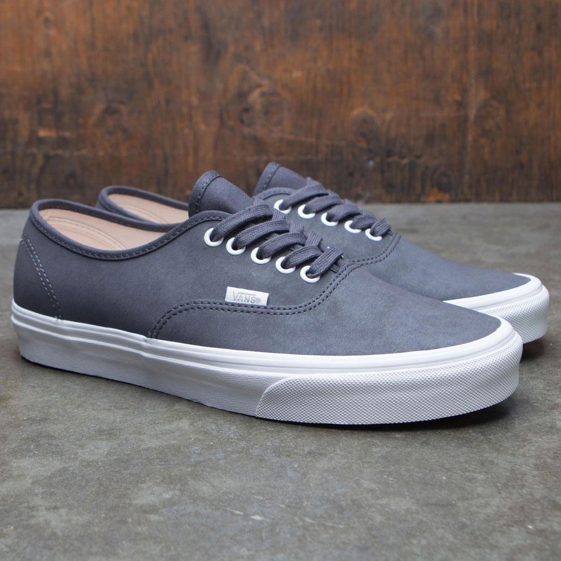 Vans Men Authentic - Vansbuck Asphault gray