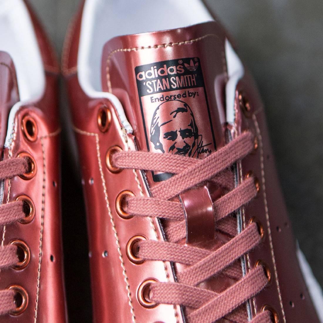 the latest 2326c c57ca Adidas Women Stan Smith Boost W (bronze  copper metallic  footwear white)