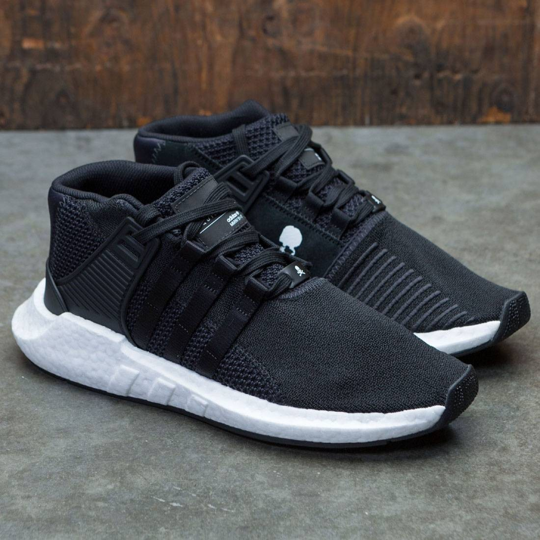 online store 2afb3 0e976 Adidas x Mastermind World Men EQT Support 93/17 Mid (black / core black /  footwear white)