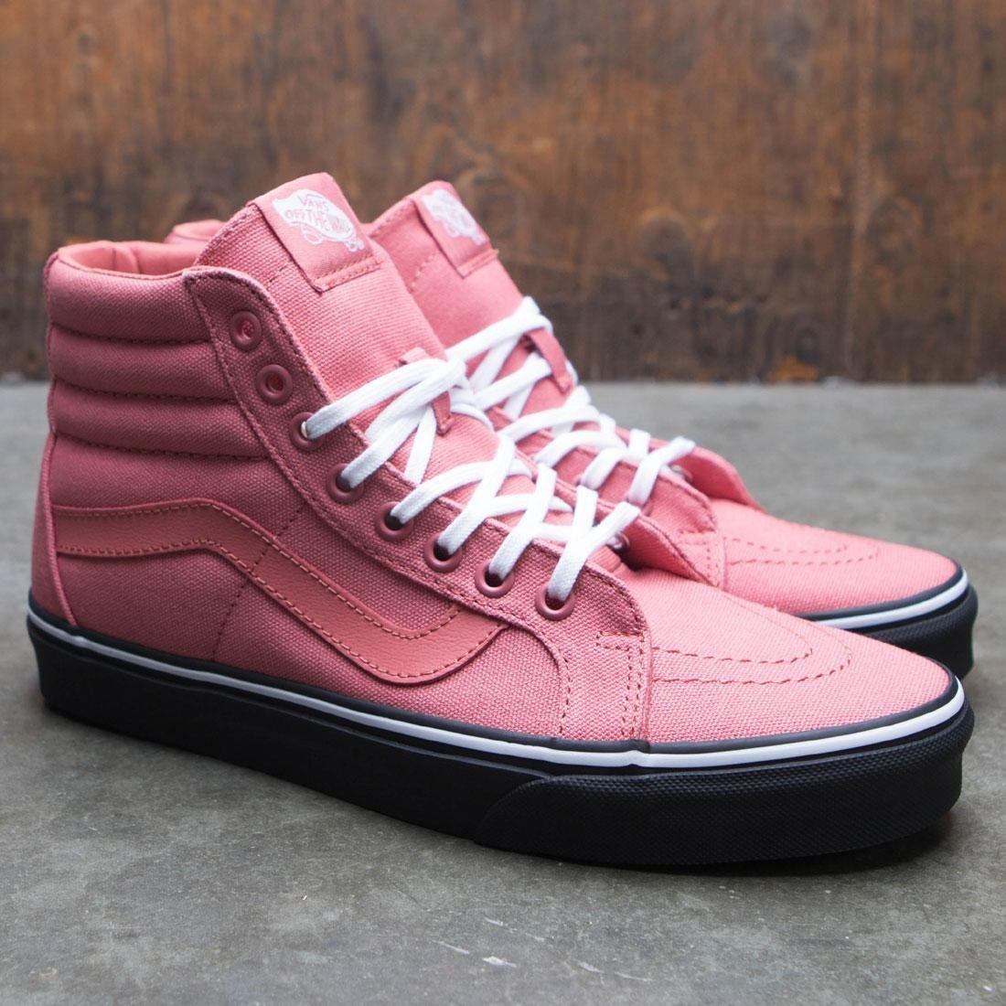 825f30a18d Vans Men SK8-Hi Reissue - Black Outsole (pink   faded rose   black)