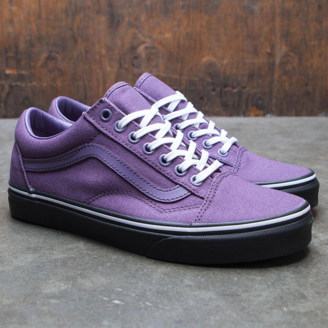 a6bf068058 Vans Men Old Skool - Black Outsole (purple   grape   black)