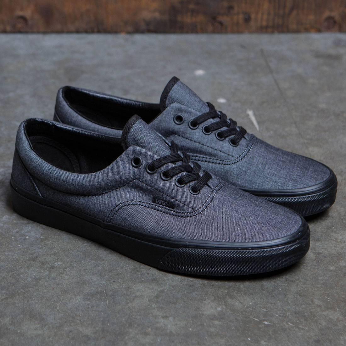 5435d28659 Vans Men Era (black   mono chambray)