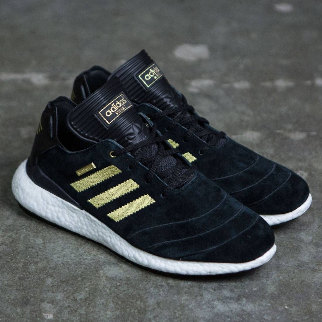 845a7271d Adidas Men Busenitz Pure Boost 10 Year Anniversary (black   gold metallic    footwear white)