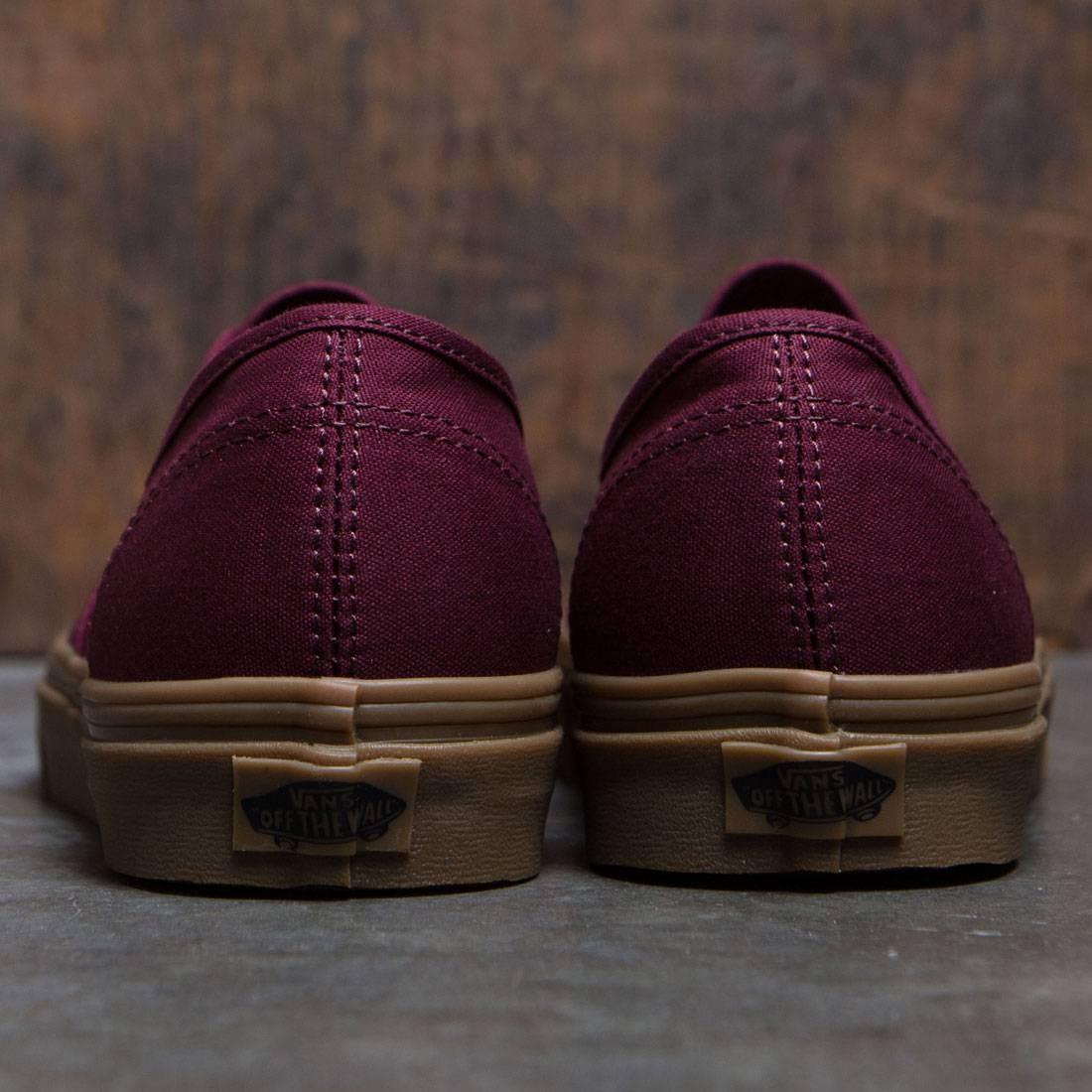 Vans Men Authentic - Light Gum burgundy