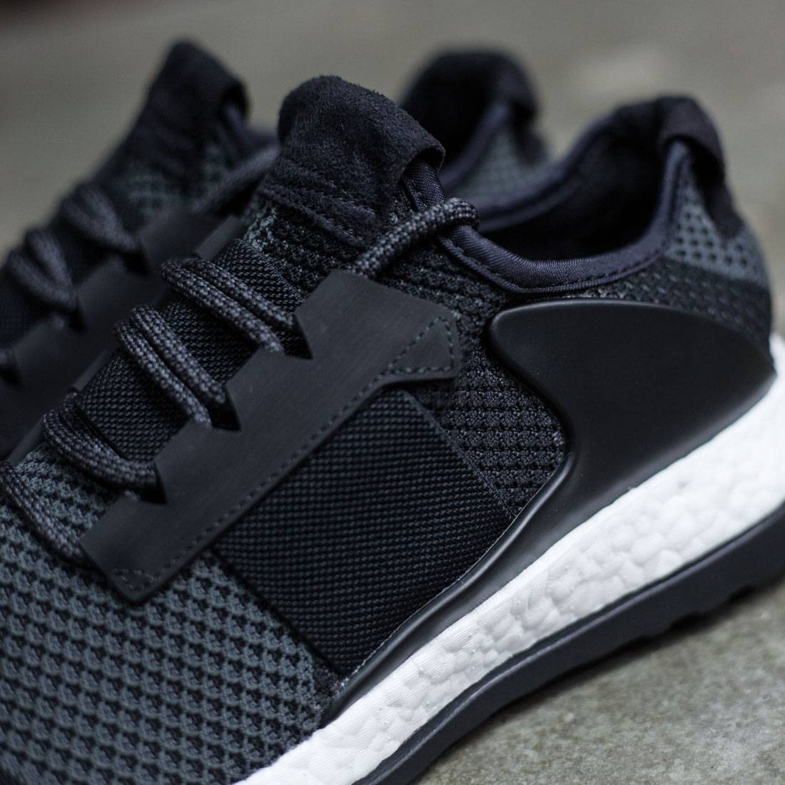timeless design b40ed fb7fd Adidas Consortium Day One Men ADO Pure Boost ZG (black  core black)