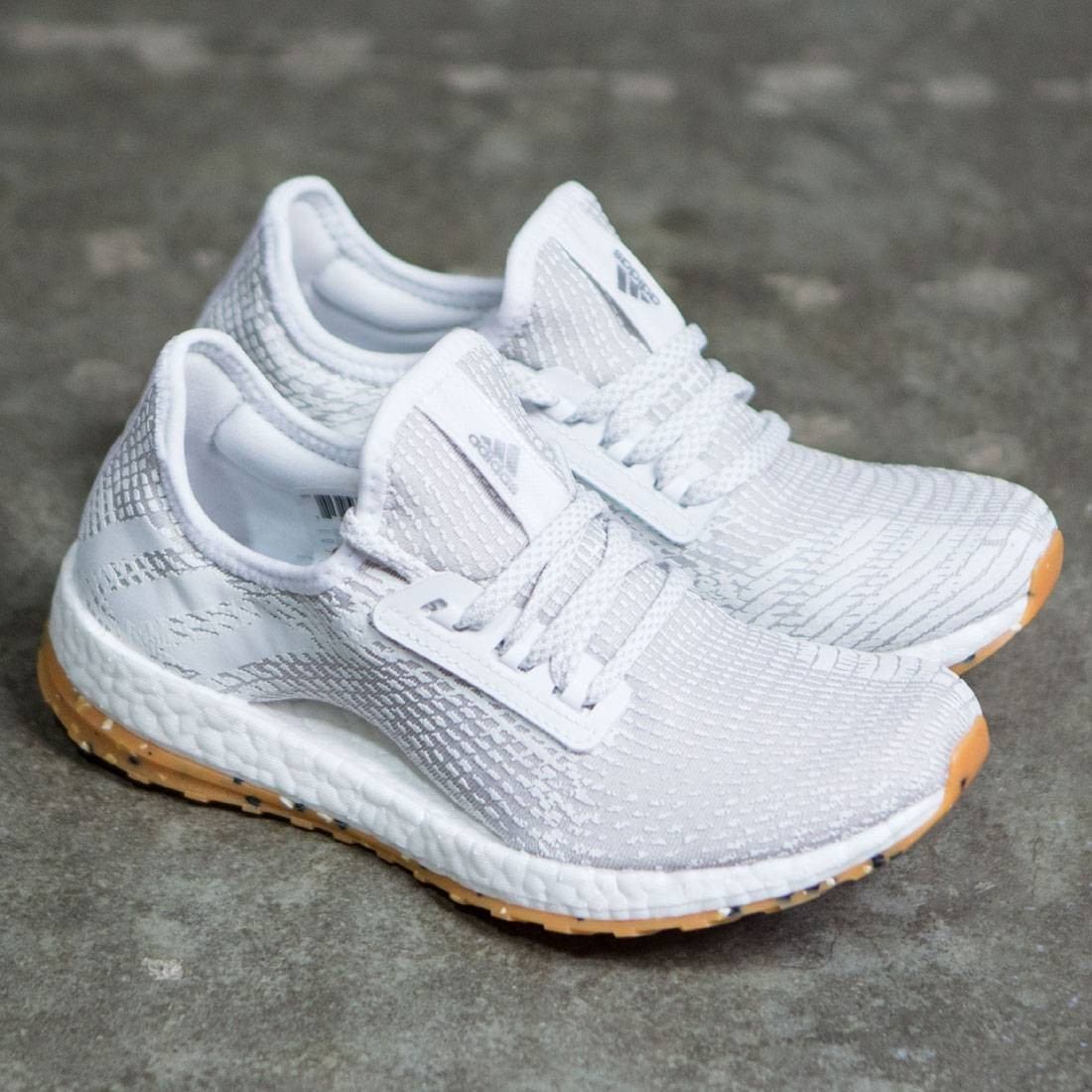 3a3561be420ac Adidas Women Pure Boost X ATR (white   footwear white   crystal white    pearl grey)