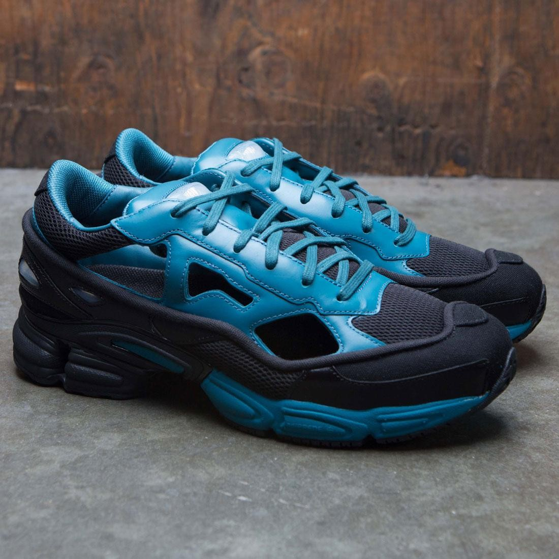 827c4111c1d94f Adidas x Raf Simons Men Replicant Ozweego (black   colonial blue   core  black)