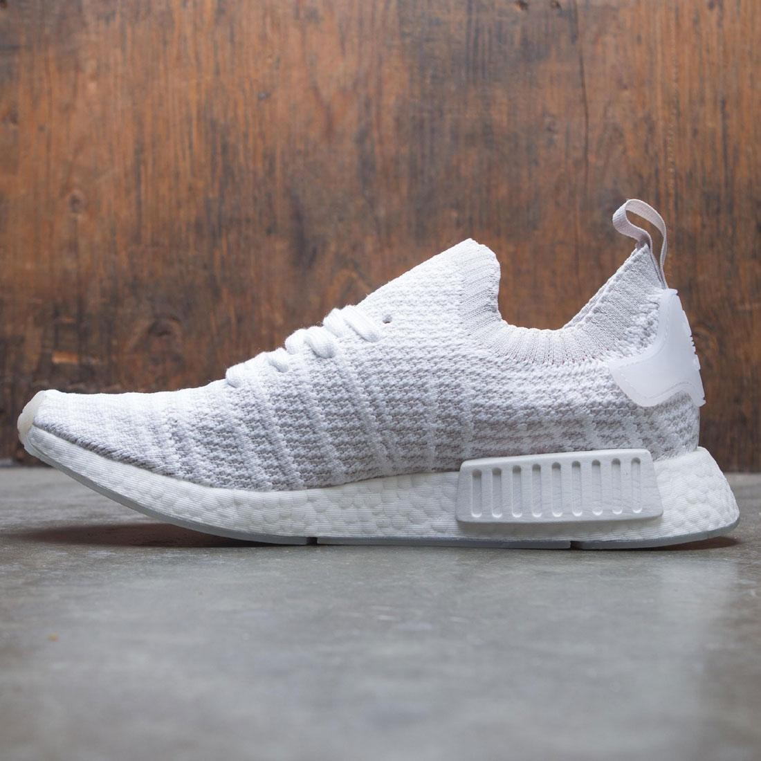 timeless design 2ae1e 3197e Adidas Men NMD R1 STLT Primeknit (white / grey one / solar pink)