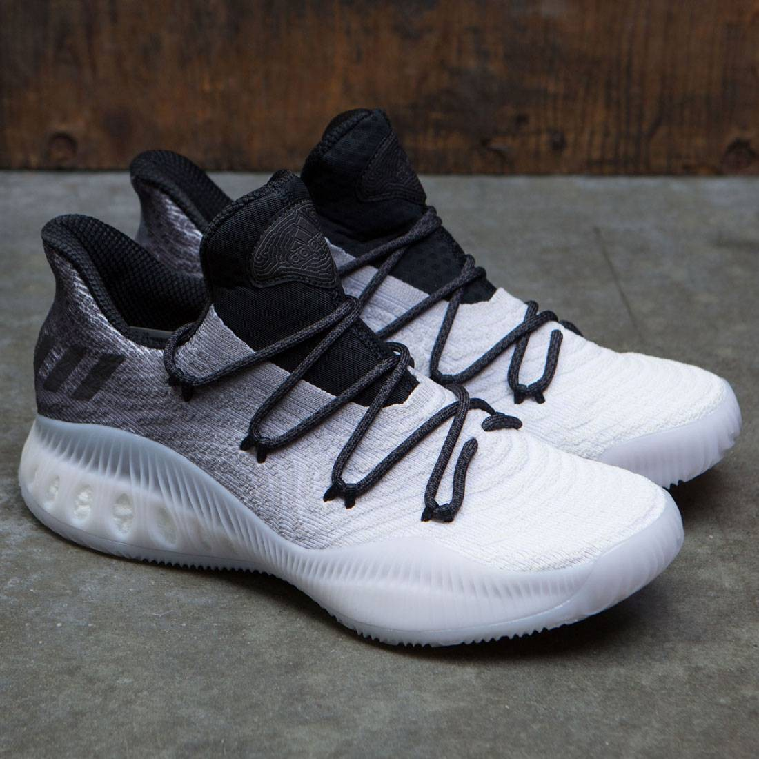 best service 97c38 069a4 Adidas Men Crazy Explosive Low Primeknit (gray   ligh solid grey   footwear  white   core black)