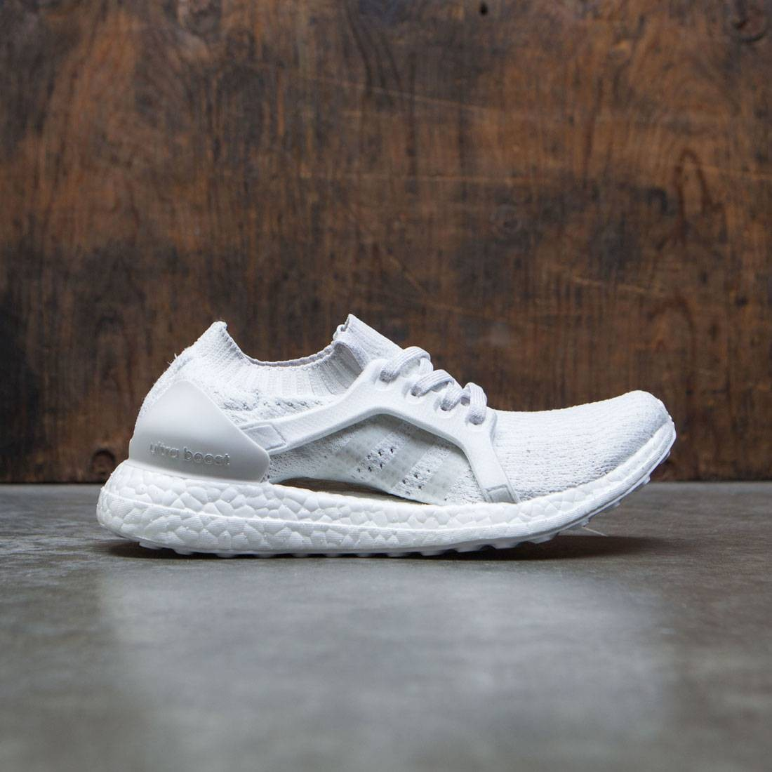 6d636e4ca667d Adidas Women UltraBOOST X white crystal white grey one