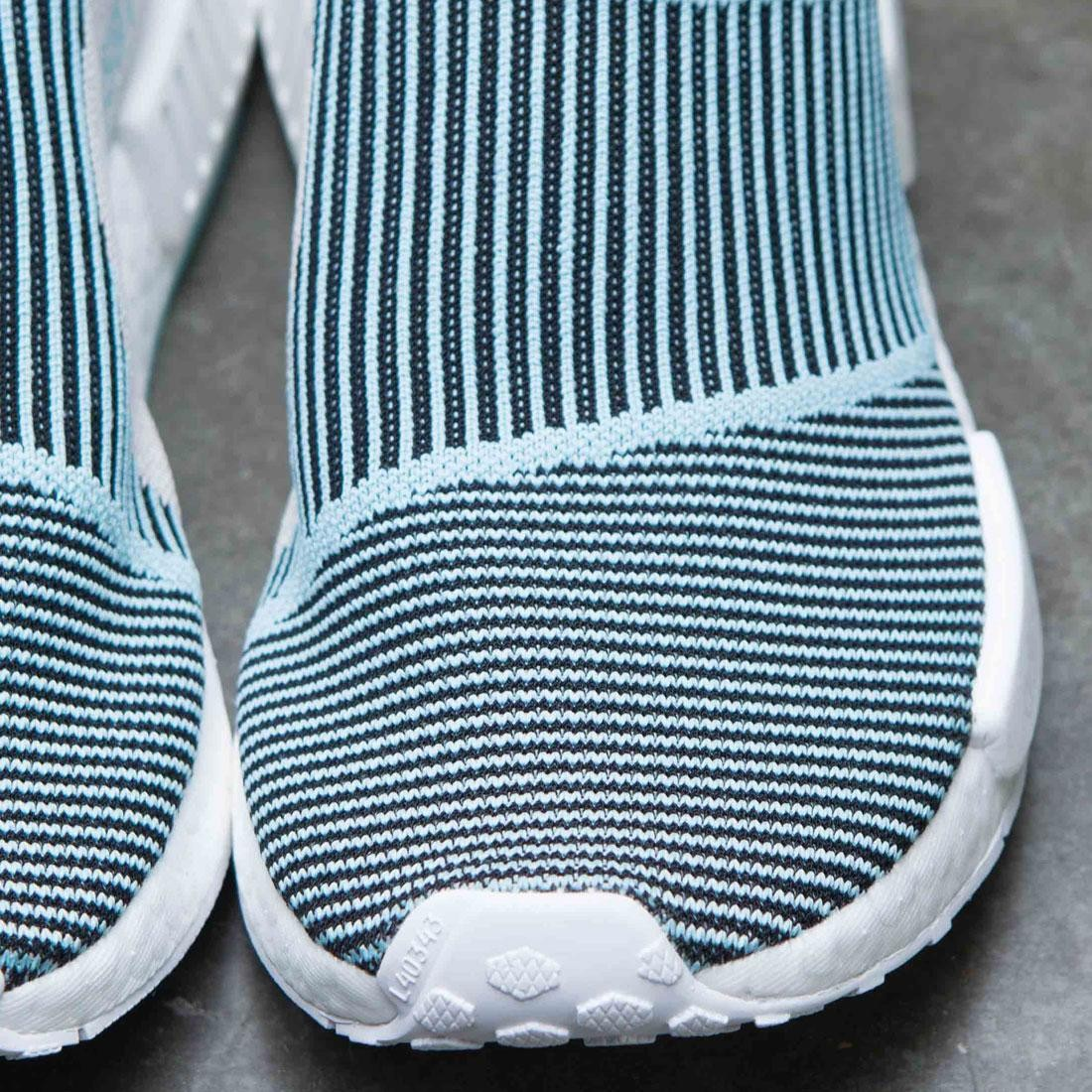 c5704ea20 Adidas Men NMD CS1 Parley Primeknit (black   core black   blue spirit)