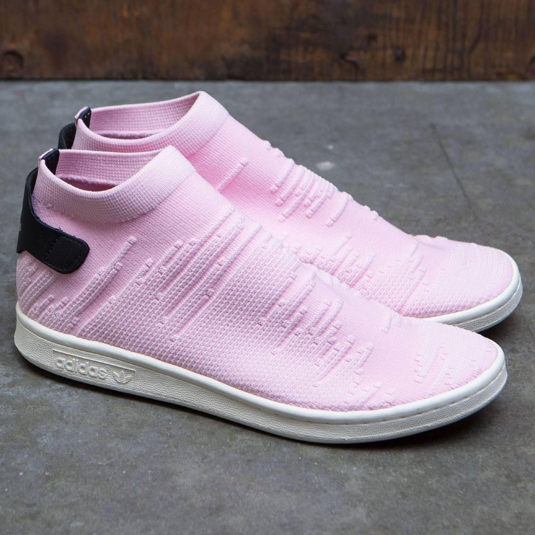 premium selection fd855 03702 Adidas Women Stan Smith Sock Primeknit W (pink / wonder pink / core black)