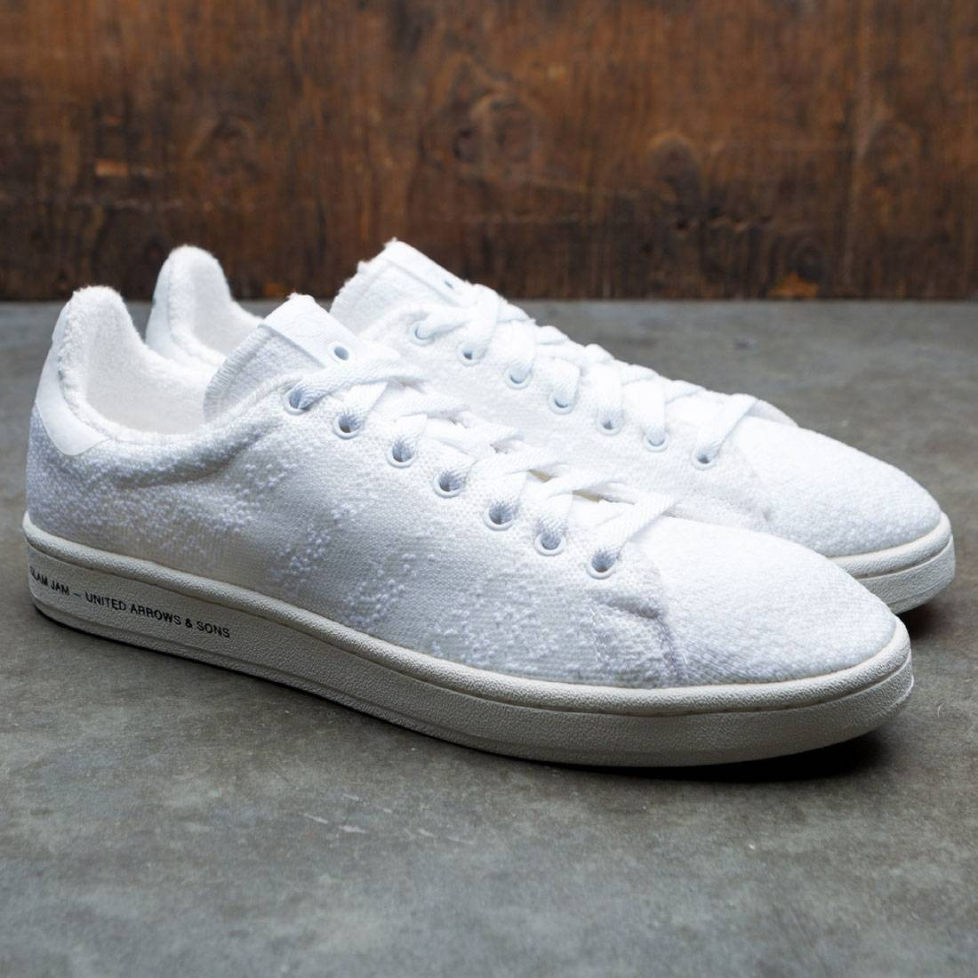 33819474b6b0 Adidas Consortium x United Arrows And Sons x Slam Jam Men Campus Sneaker  Exchange (white   footwear white   chalk white)