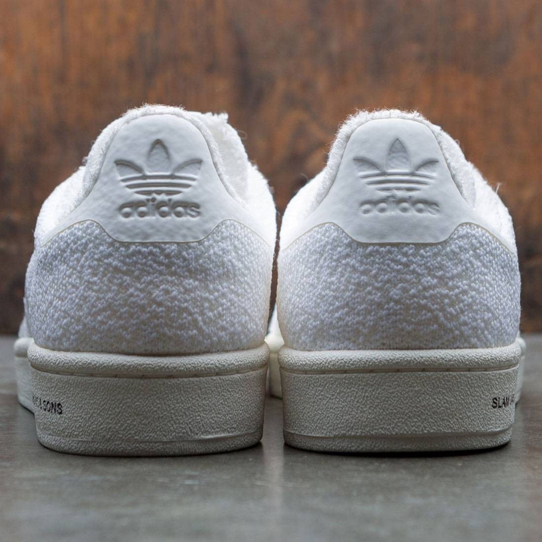 3f2a967ba946 Adidas Consortium x United Arrows And Sons x Slam Jam Men Campus Sneaker  Exchange (white   footwear white   chalk white)