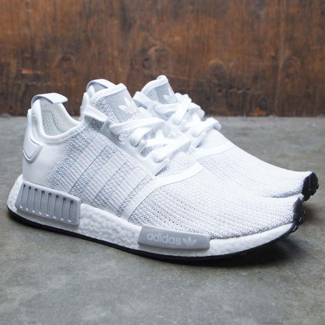 buy online 4a95a cff41 Adidas Men NMD R1 (white / grey two / footwear white)
