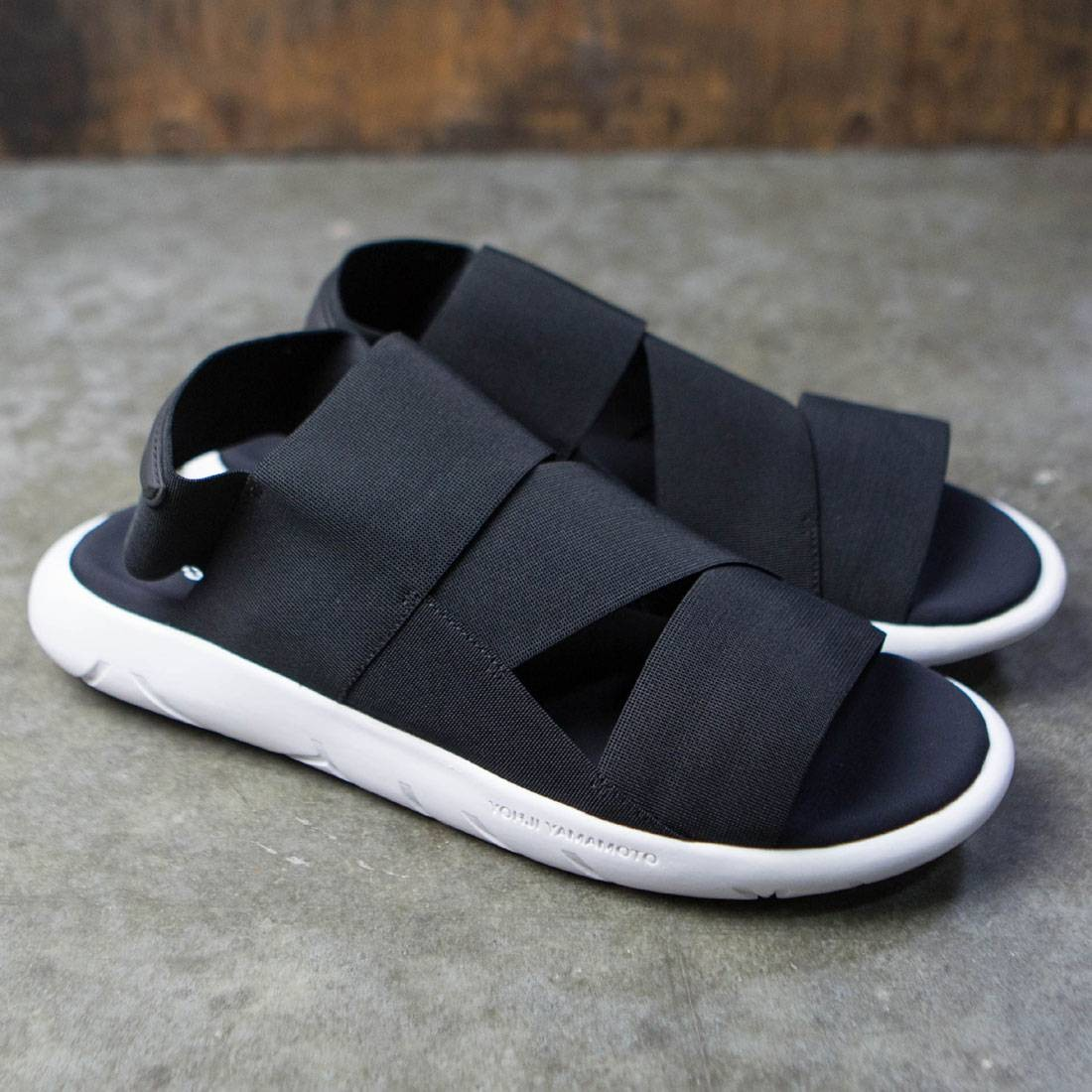 59fe52fc9bb7f Adidas Y-3 Men Qasa Sandal (black   core black   crystal white)