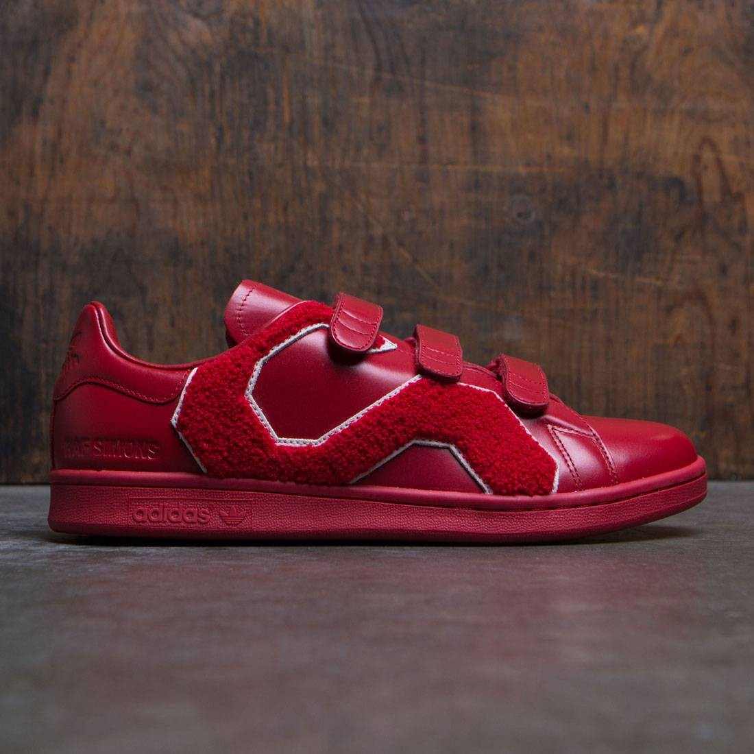 pretty nice 05123 20c02 Adidas x Raf Simons Men Stan Smith Comfort Badge (red / power red)