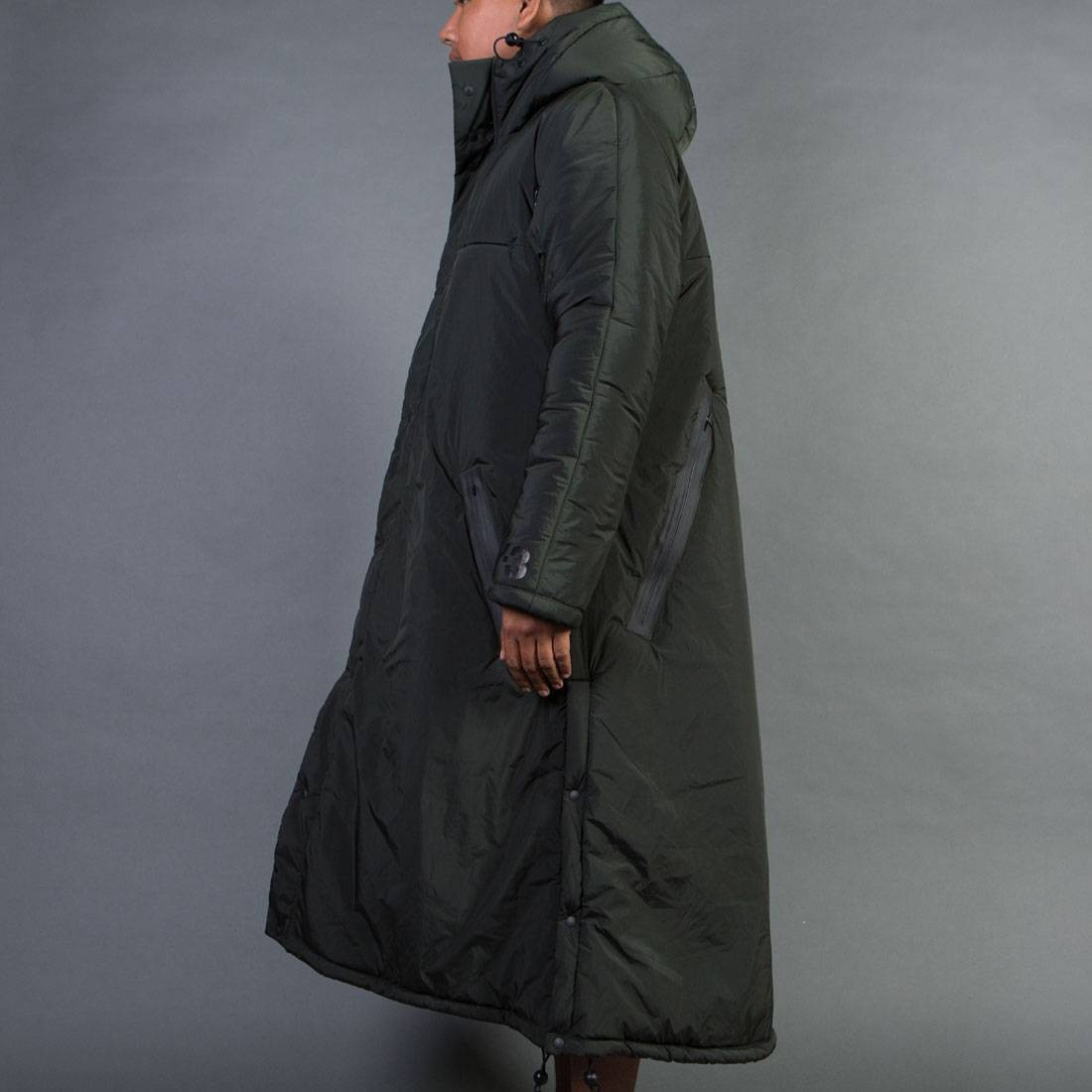 dce27656b Adidas Y-3 Men Nylon PA Coat (olive / dark black olive)