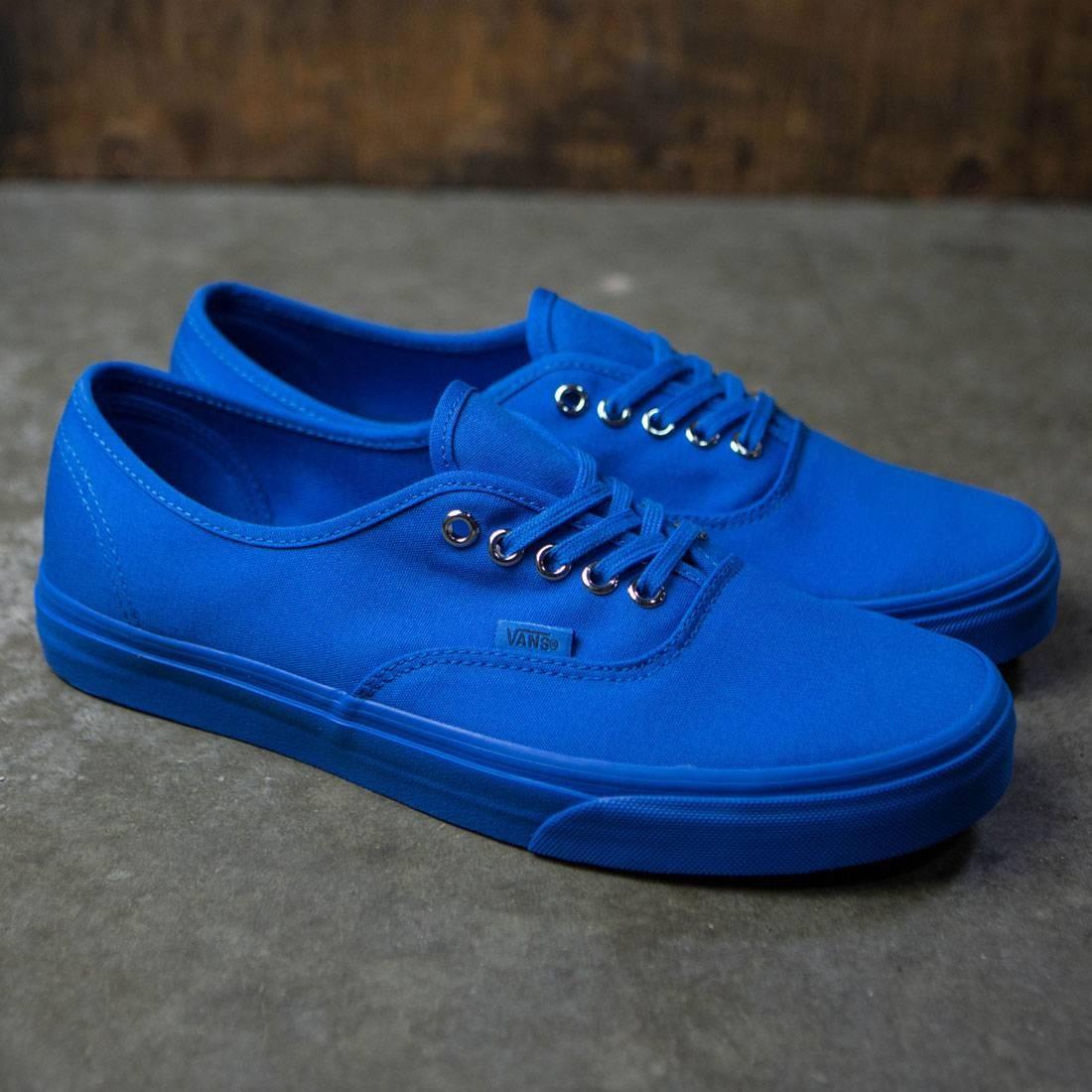 0cb5665111 Vans Men Authentic - Primary Mono (blue   imperial silver)