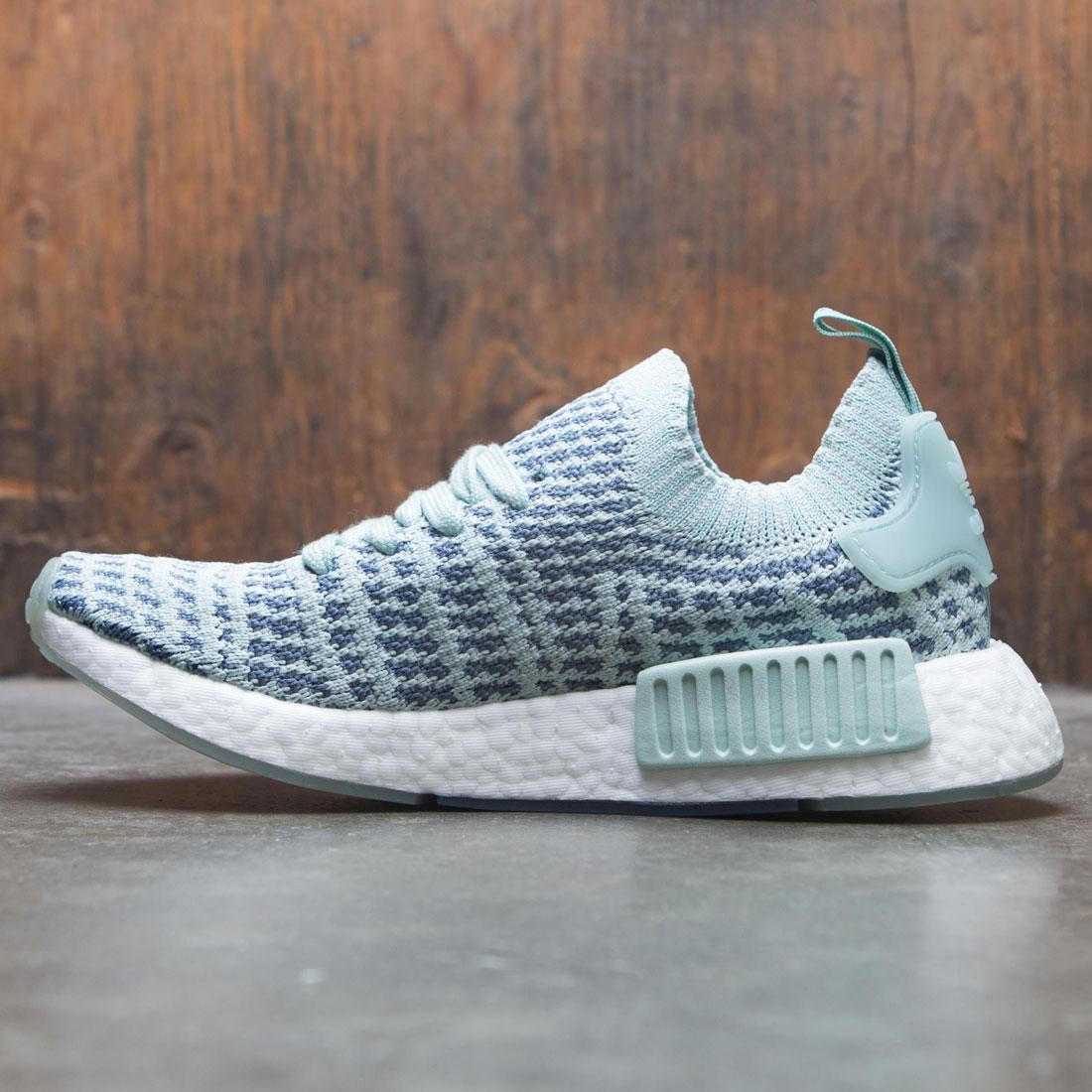 reputable site 8af7f e3c97 Adidas Women NMD R1 STLT Primeknit W (green   ash green   raw steel    footwear white)