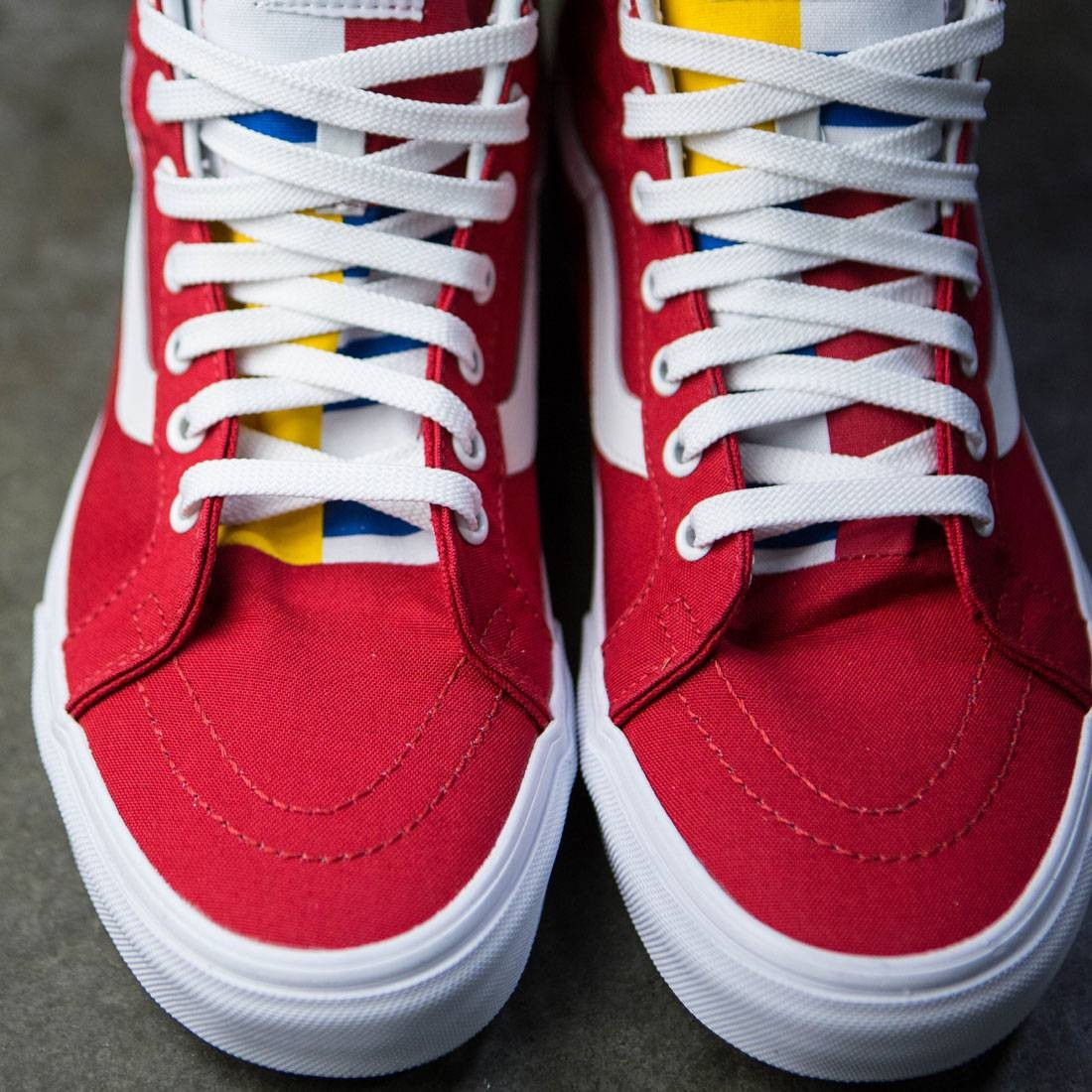 089688ec0c91 Vans Men SK8-Hi Reissue - 1966 (red   blue   white)