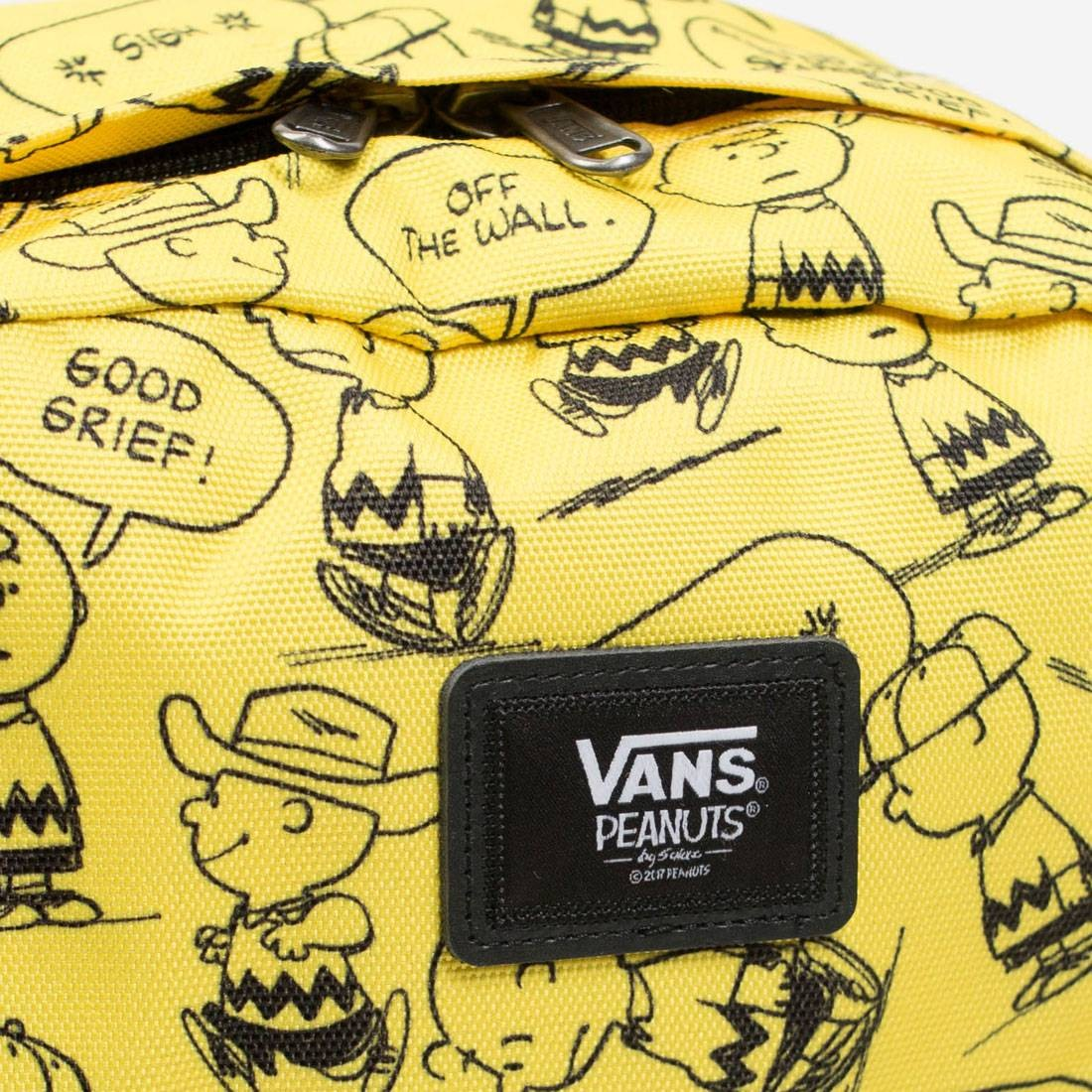 47b8c5a4cf Vans x Snoopy Peanuts Old Skool II Backpack (yellow   black)