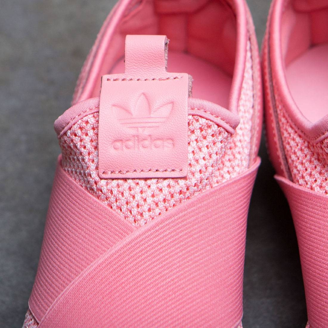 Chaussures Adidas Superstar W Rose Glisse Sur Femmes Tactile xCwpv