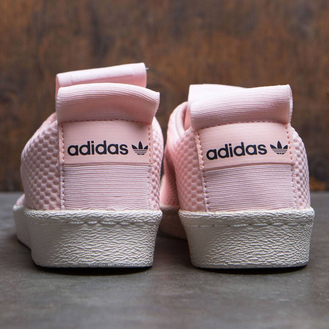Adidas Women Superstar BW35 Slip On W (pink icey pink off white)