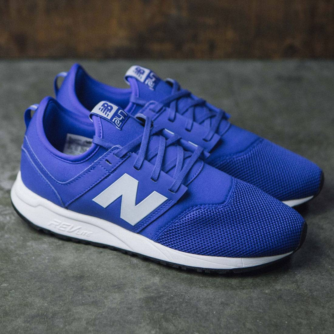 official store forefront of the times online shop New Balance Men 247 Classic MRL247BW (blue / white)
