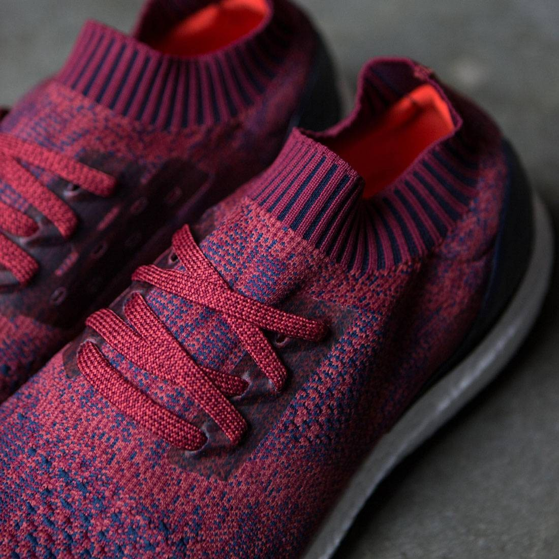 Adidas Men's Ultra Boost Uncaged Mystery Red Navy Ba9617