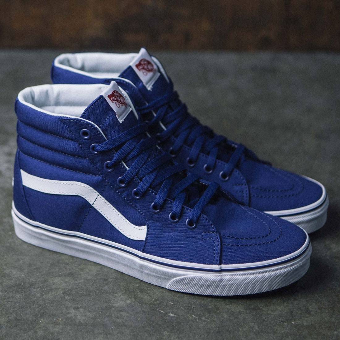 45536a72c1b Vans x MLB Los Angeles Dodgers Men Sk8-Hi - Dodgers (white   blue)
