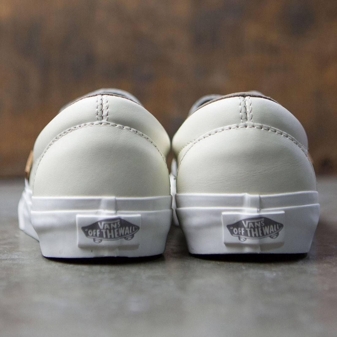 Vans Men Classic Slip-On Dx - Havana Perforated Leather (white) 3210f5423