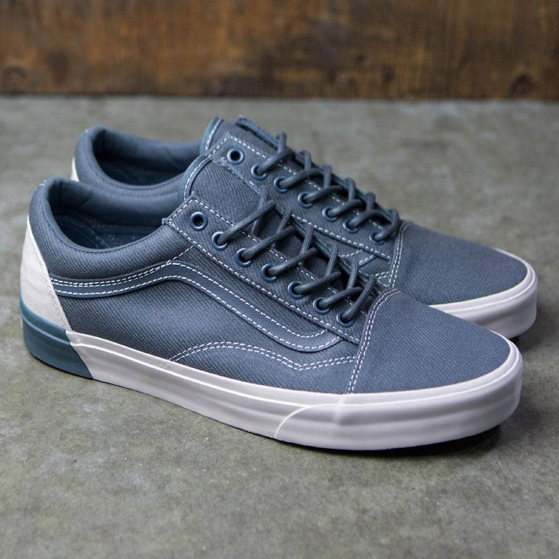 cc6f90c27f6bff Vans Men Old Skool DX - Blocked (gray  white)
