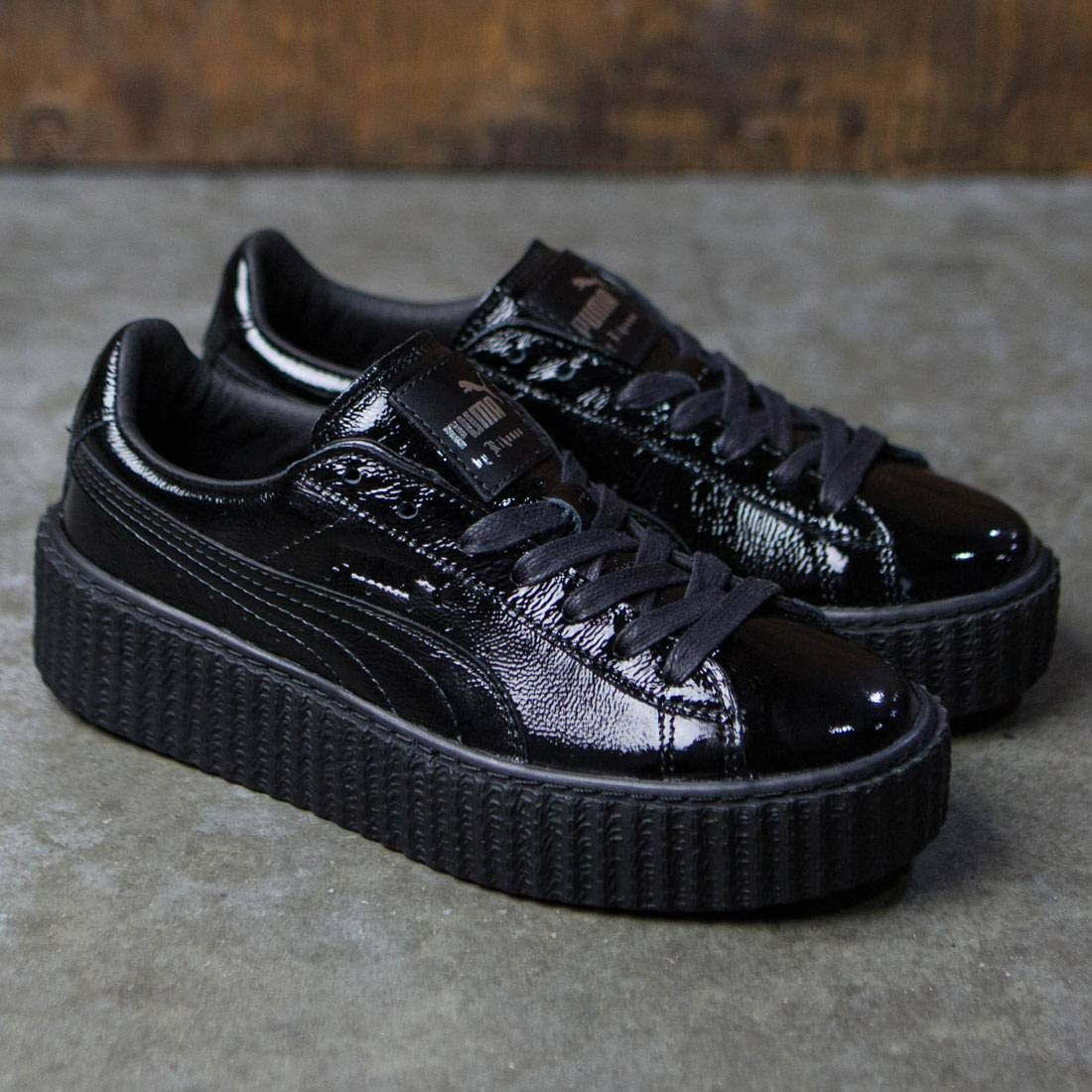 finest selection 231f8 e5451 Puma x Fenty By Rihanna Women Creeper - Cracked Leather (black)