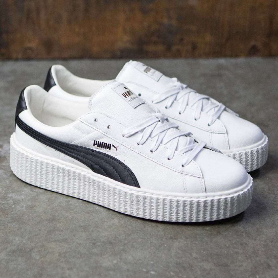 hot sale online e6fe5 ac013 Puma x Fenty By Rihanna Men Creeper - Cracked Leather (white)