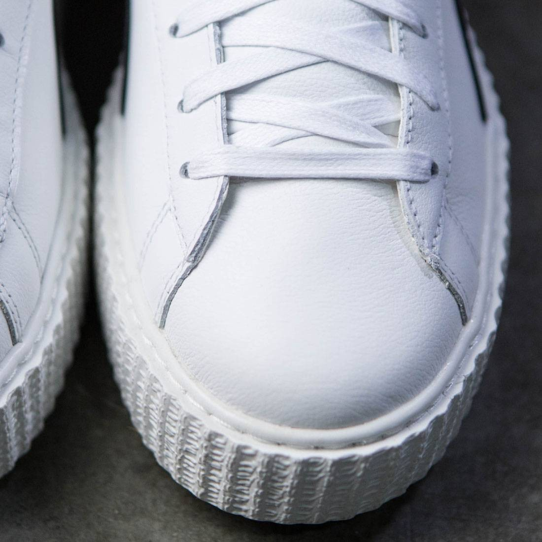 hot sale online e5872 25f9d Puma x Fenty By Rihanna Men Creeper - Cracked Leather (white)