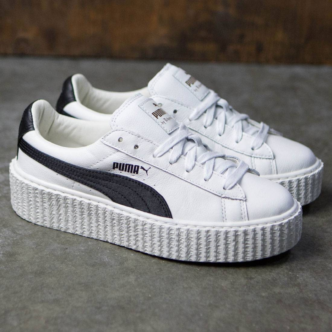 1bbb4c65d92 Puma x Fenty By Rihanna Women Creeper - Cracked Leather (white)