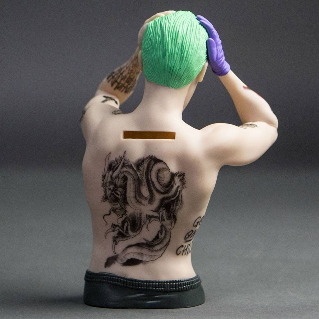Monogram Suicide Squad The Joker Bust Bank tan